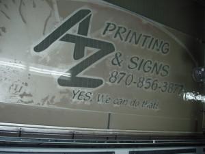 Waterjet Cutting Metal Signs Arkansas
